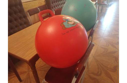 мяч  с ручкой для фитнеса, фото — «Реклама Севастополя»