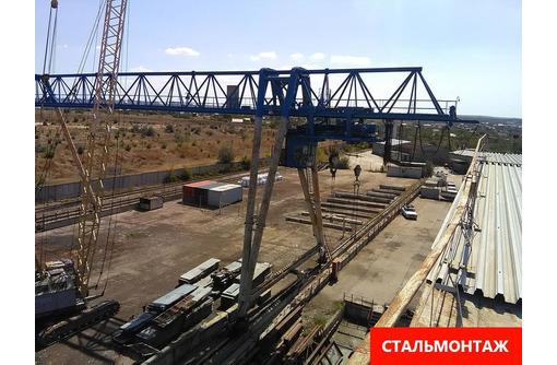 Аренда площадок 2000+2000 кв. м. жд ветка краны гп 32 тонны от собственника., фото — «Реклама Севастополя»