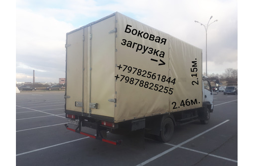 Грузоперевозки по Севастополю и Крыму, фото — «Реклама Севастополя»