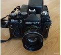 Фотоаппарат зенит 12сд с helios 44m-4 - Плёночные фотоаппараты в Севастополе