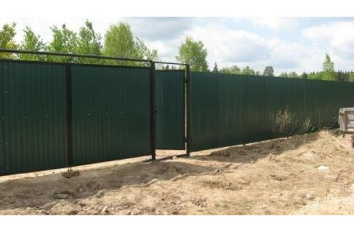 Забор под ключ от производителя, фото — «Реклама Севастополя»