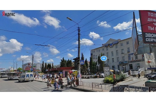 МЕСТО с ТРАФИКОМ по адресу ул Пр Октябрьской Революции, площадь 28 кв.м., фото — «Реклама Севастополя»