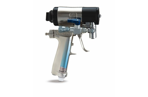 Пистолет Graco Fusion CS с очисткой жидкостью, фото — «Реклама Севастополя»