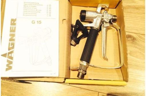 Окрасочный пистолет Wagner G 15, фото — «Реклама Севастополя»