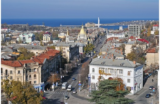 Первая линия на Большой Морской, фото — «Реклама Севастополя»
