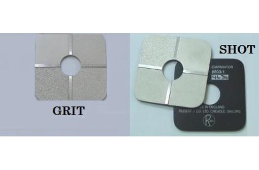 КОМПАРАТОР. Эталоны шероховатости поверхности GRIT, SHOT., фото — «Реклама Керчи»