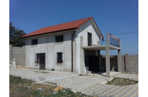 дом недострой новой постройки на ул. Шафрановая, р-н Камышового шоссе, фото — «Реклама Севастополя»