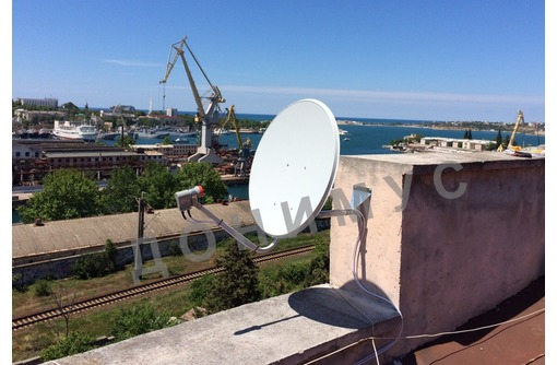 Триколор ТВ и НТВ+ в Крыму, Официальный дилер, фото — «Реклама Ялты»