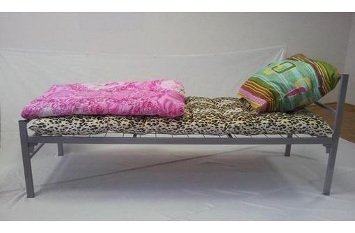 Трёхъярусные металлические кровати для общежитий, кровати металлические для санаториев, фото — «Реклама Алушты»