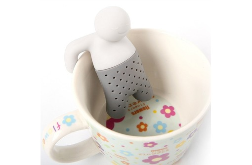 Заварник для чая силиконовый Человечек. В наличии! 80руб., фото — «Реклама Севастополя»