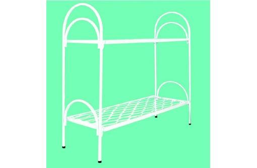 Кровати металлические двухъярусные для казарм, кровати для больниц, трёхъярусные кровати, фото — «Реклама Алушты»