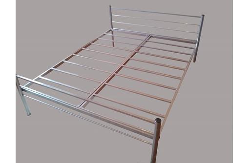 Кровати металлические одноярусные, кровати металлические двухъярусные, кровати металлические оптом, фото — «Реклама Старого Крыма»
