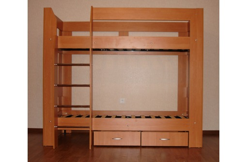 Изготовление двухъярусных кроватей, фото — «Реклама Краснодара»