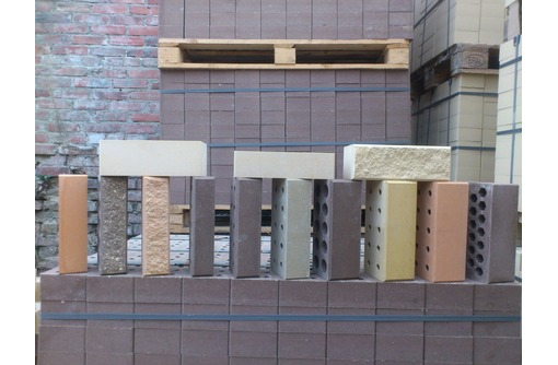 Кирпич блок полублок облицовачный, фото — «Реклама Армавира»