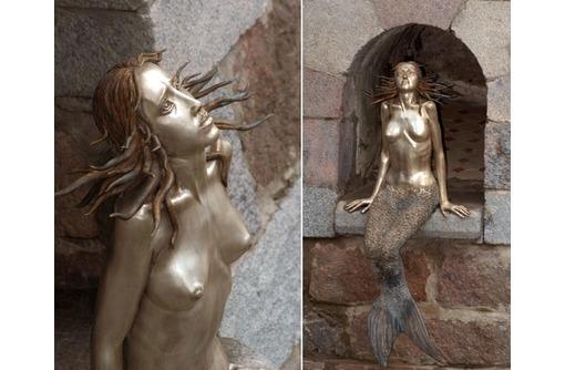 "скульптура из металла ""Русалка"", фото — «Реклама Белореченска»"