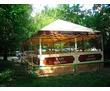 Каркасно-тентовые шатры для летнего кафе, фото — «Реклама Краснодара»