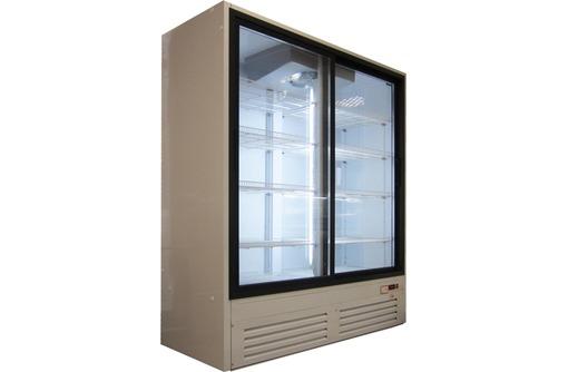 холодильный шкаф со стеклянными дверьми, фото — «Реклама Краснодара»