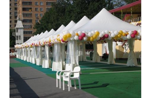 Производство шатров для летнего и зимнего времени, фото — «Реклама Адлера»