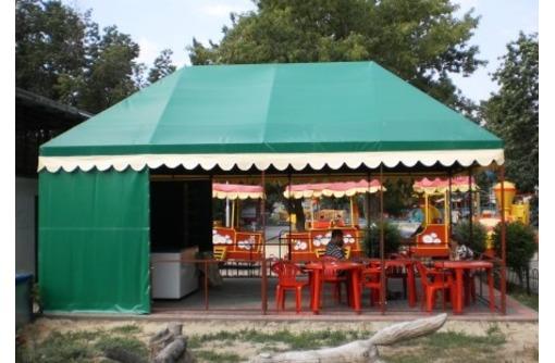 Палатки для летнего кафе каркасно - тентовые, фото — «Реклама Кореновска»