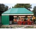 Палатки для летнего кафе каркасно - тентовые - Металл, металлоизделия в Кореновске
