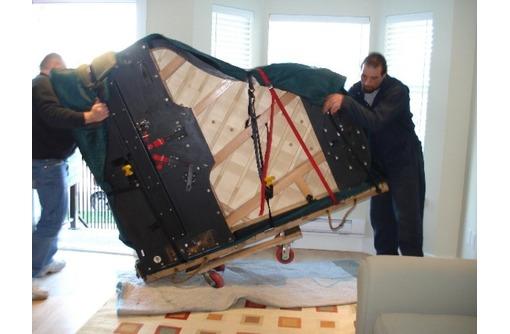 Погрузка и перевозка пианино, рояля, сейфа и др. Грузчики. Транспорт, фото — «Реклама Краснодара»