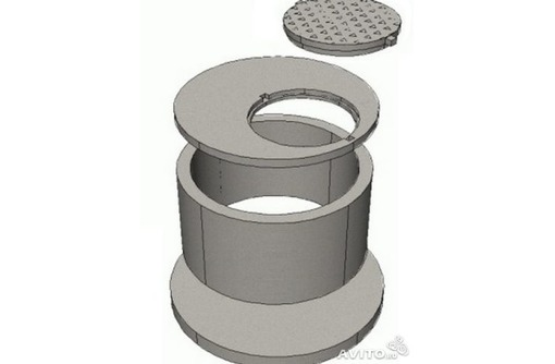 ЖБИ кольца КС 10.9 для септика, фото — «Реклама Краснодара»