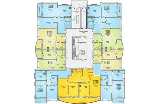 квартира в ЖК Губернский от подрядчика ниже цены застройщика БЕЗ % 2740 т.р, фото — «Реклама Краснодара»