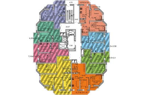 Квартира от подрядчика 2кв 51м ЖК Большая Таманская Без % цена 2565 т.р, фото — «Реклама Краснодара»