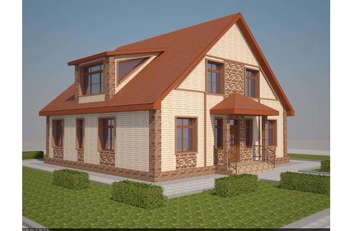 Строительство дома, коттеджа, дачного дома под ключ. Новороссийск, фото — «Реклама Новороссийска»