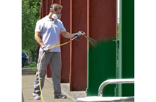 Механизированная покраска, фото — «Реклама Краснодара»