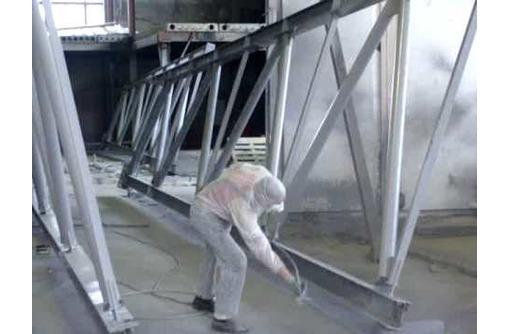 Окраска металлоконструкций, фото — «Реклама Новороссийска»