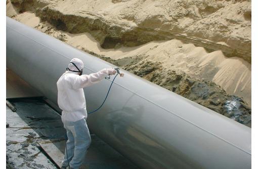 покраска трубопроводов, фото — «Реклама Туапсе»