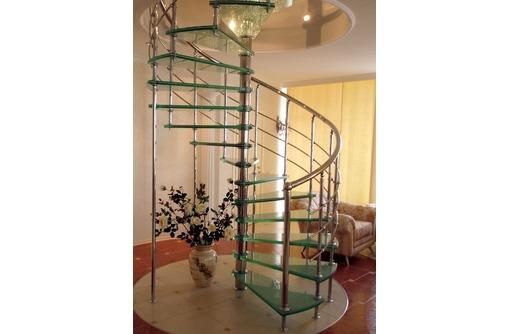 Лестницы и перила из стекла, фото — «Реклама Краснодара»