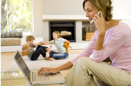 Работа на дому для мам в декрете, домохозяек, фото — «Реклама Краснодара»