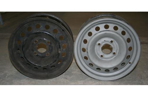 пескоструйная очистка автомобиль дисков, фото — «Реклама Краснодара»