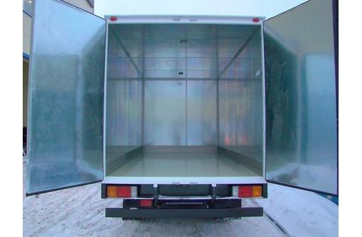 Фургон промтоварный. Переоборудование грузовых авто в Краснодаре, фото — «Реклама Краснодара»
