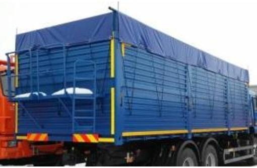 Грузовик зерновоз  дешевле до 50 %, благодаря сменным контейнерам, фото — «Реклама Новороссийска»
