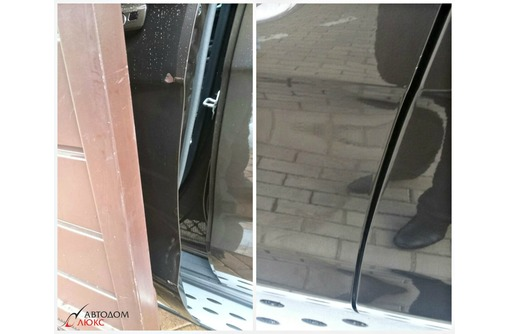 Ремонт без покраски / удаление вмятин вакуумом, фото — «Реклама Краснодара»