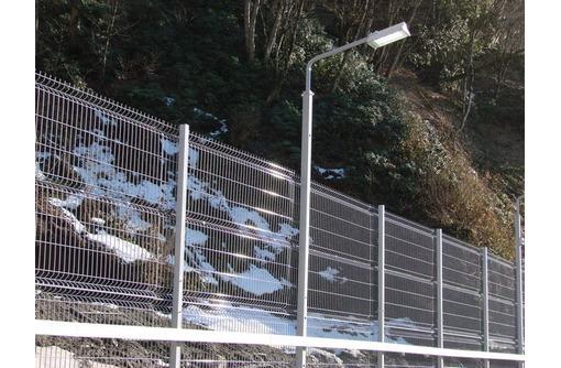 3D забор - Просматриваемый, прочный и надежный, фото — «Реклама Краснодара»