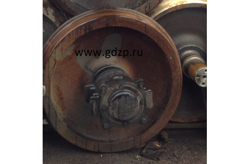Колесная пара толщина обода 70-75 мм, Б/У 100.10.000-12 СБ, фото — «Реклама Новороссийска»