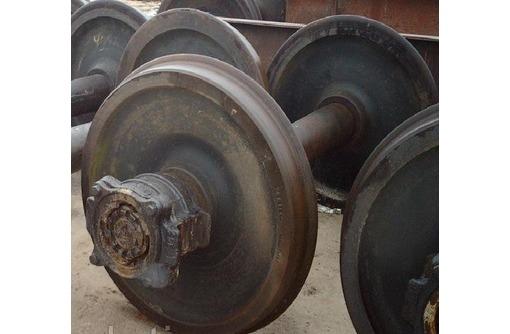 Колесная пара толщина обода 60-64 мм, Б/У 100.10.000-12 СБ, фото — «Реклама Новороссийска»