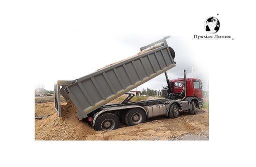 Доставка инертных материалов щебень, песок, отсев, галька, пгс, булыжник, галька, фото — «Реклама Краснодара»