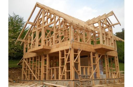 Каркасное строительство домов, фото — «Реклама Адлера»