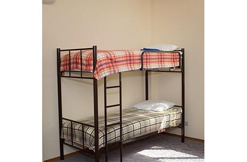 Двухъярусные кровати металлические, фото — «Реклама Краснодара»