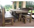 Садовая, уличная мебель из массива от Производителя., фото — «Реклама Краснодара»