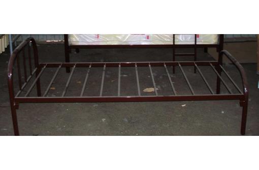 Кровати односпальные на металлокаркасе, фото — «Реклама Краснодара»