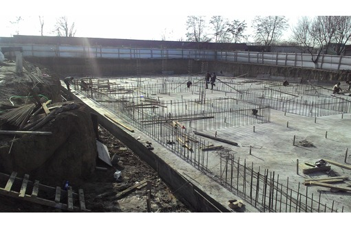 фундамент плита бетонная, фото — «Реклама Новороссийска»