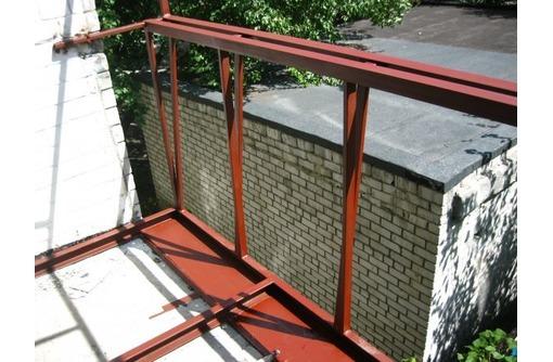 Балконы пластиковые (расширение в две стороны), фото — «Реклама Краснодара»