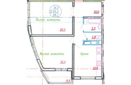 2кв КМР ЖК Аквамарин 69м от подрядчика без %, фото — «Реклама Краснодара»