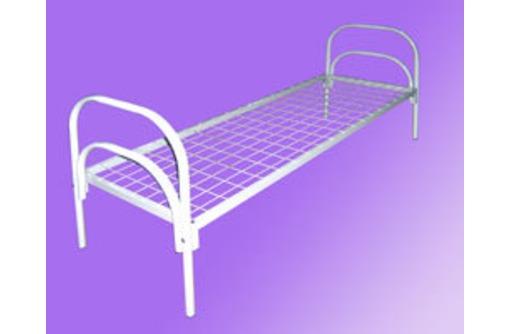 Бюджетные кровати металлические для постояльцев в гостиницы, отели, фото — «Реклама Адлера»